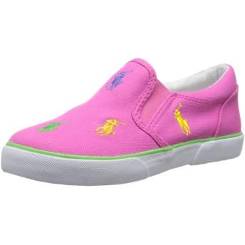 [ポロラルフローレン] Kids Bal Harbour Rptスリップオンスニーカー(Toddler/Little Kid) US サイズ: 6.5 infant_us カラー: ピンク