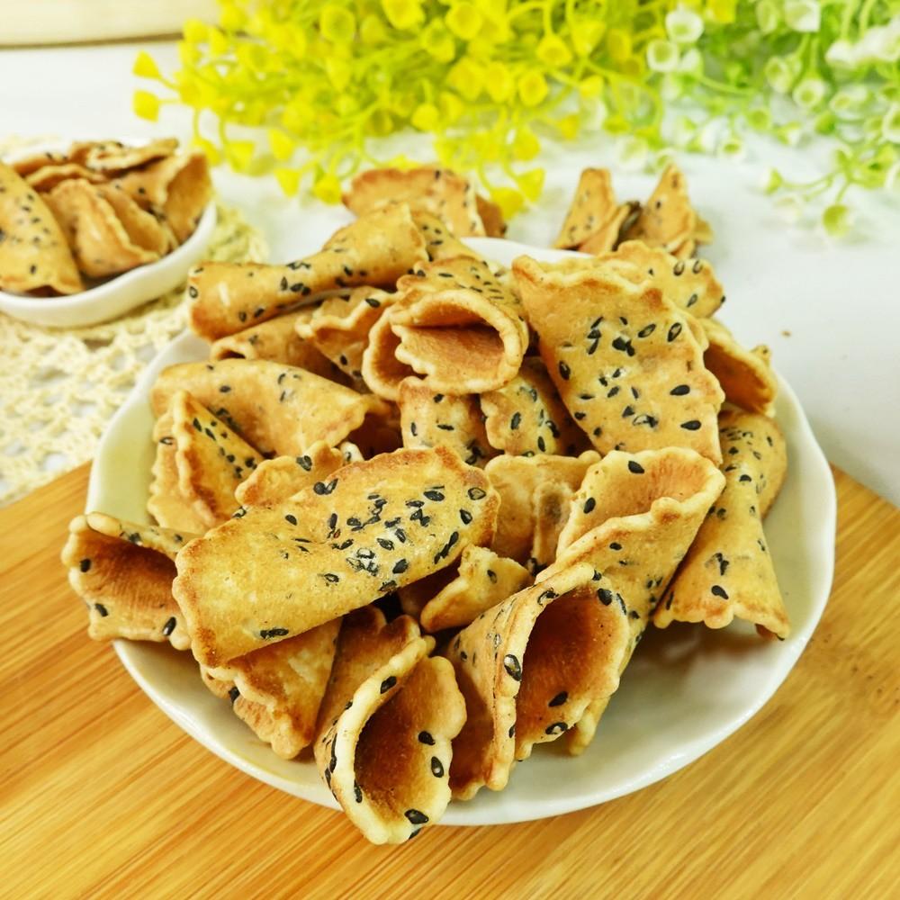 滋瑪咪煎餅-芝麻口味 1包600公克【2019040920072】(古早味)