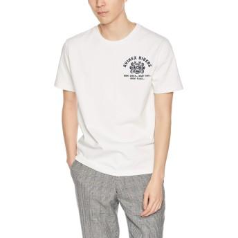 [アヴィレックス] Tシャツ EMB TEE DIVING&SALVAGE 6193343 メンズ 02WHITE 日本 XL (日本サイズXL相当)