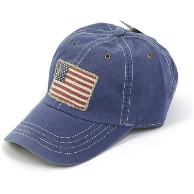 (ポロ ラルフローレン) POLO Ralph Lauren アメリカ国旗 ベースボール キャップ 0108774 [並行輸入品]