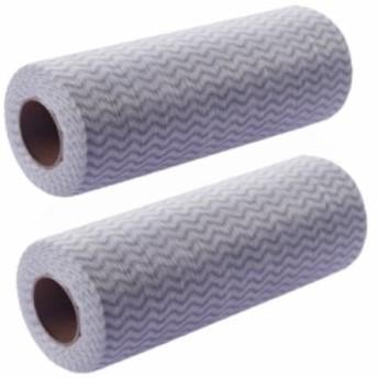 カウンタークロス キッチンクロス 使い捨て ロールタイプ 雑巾 ダスター クロス 大量セット 業務用 2ロール セット