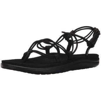 [Teva] Women's W Voya Infinity Black Sandal - 10M