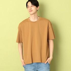 コムサコミューン(COMME CA COMMUNE) ポケット付きビッグTシャツ【マスタード(32)/M】