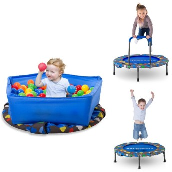 3IN1アクティビティセンタートランポリン おもちゃ おもちゃ・遊具・三輪車 遊具 (17)
