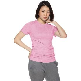 [ダンスキン] フィットネスウェア NONSTRESS Tシャツ [レディース] DA79100 ディープピンク (DI) 日本 L (日本サイズL相当)