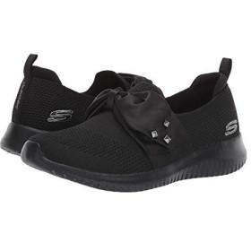 [スケッチャーズ] レディーススニーカー・靴・シューズ Ultra Flex - Satin Night Black (26cm) B - Medium [並行輸入品]