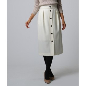 UNTITLED(アンタイトル) フロントボタンナロースカート
