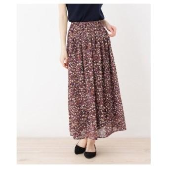 ITS' DEMO(イッツデモ)楊柳マルチカラースカート