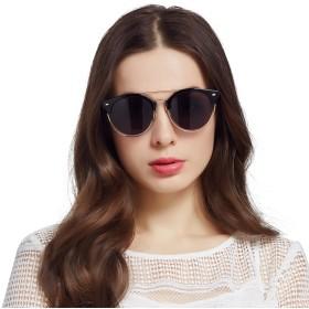 Jardin d'amourサングラス レディース 女性 クラシック デカ フレーム おしゃれ ファッション 夏日 アウトドア 紫外線 uvカット 偏光 レンズ JA6060 ブラック