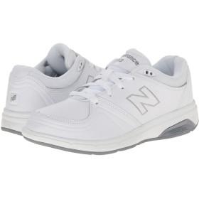 (ニューバランス) New Balance メンズランニングシューズ・スニーカー・靴 WW813 White ホワイト 9.5 (27.5cm) 4E