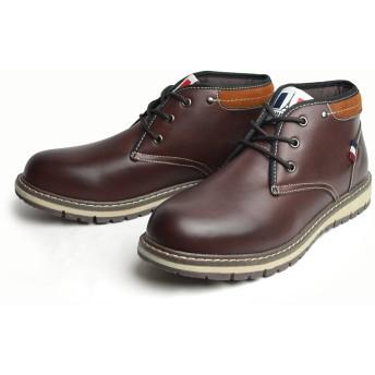 ブーツ - ShoeSquare 【LiBERTO-EDWIN-リベルト エドウィン】 防水 ブーツ メンズ レインブーツ レインシューズ スニーカーメンズブーツカジュアル ワークブーツ ショートブーツ 靴