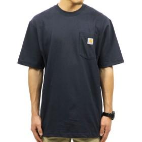 [カーハート] CARHARTT 正規品 メンズ 半袖Tシャツ WORKWEAR POCKET SHORT-SLEEVE T-SHIRT K87 NVY XL 並行輸入品 (コード:4115141106-5)