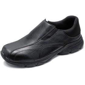 [セレブル] (ダイナウォーク) DynaWark ウォーキングシューズ 3e メンズ 運動靴 屈曲性 カップインソール ブラック 27cm