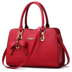 のファッショントレンド女性のハンドバッグ袋のハンドバッグのショルダー・バッグレトロカジュアルメッセンジャーバッグ女性用,赤