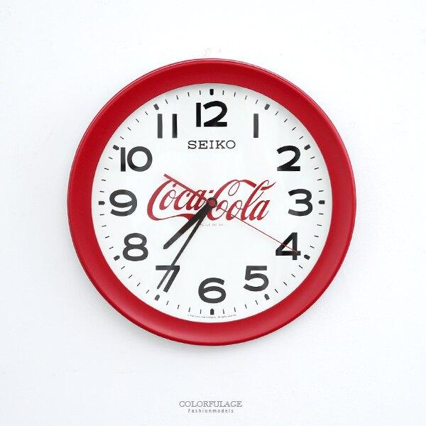 時鐘 SEIKOx可口可樂大掛鐘 柒彩年代【NG49】原廠公司貨