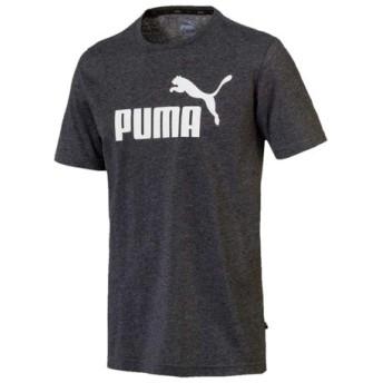 プーマ PUMA メンズ ESS NO.1 ロゴ ヘザー SS Tシャツ スポーツ トレーニング 半袖 Tシャツ アウトレット セール