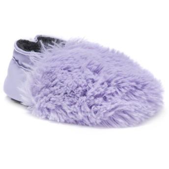 [MUK LUKS] ユニセックス・キッズ Baby Soft Shoes- Lavender カラー: パープル