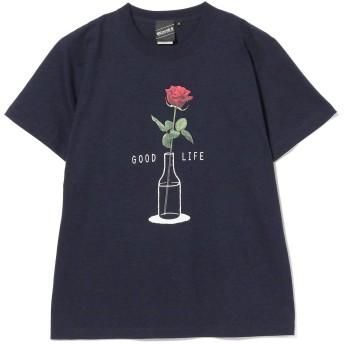 [ビームス] 半袖プリント Tシャツ 【SPECIAL PRICE】 T Good Life Tee メンズ ネイビー S