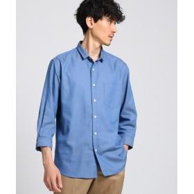 TAKEO KIKUCHI(タケオキクチ) ミニウイングカラー 七分袖 シャツ