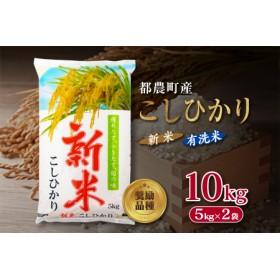 都農町産『新米こしひかり』計10kg《有洗米》