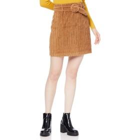 [リリーブラウン] ベルト付ボックススカート LWFS184003 レディース CML 日本 0 (日本サイズ7 号相当)