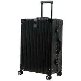 MOIERG(モアエルグ)スーツケース キャリーバッグ キャリーケース アルミフレーム [71-22010-10] (SS, ブラック)