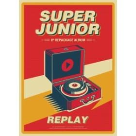【CD】 Super Junior スーパージュニア / 8集 Repackage:  REPLAY