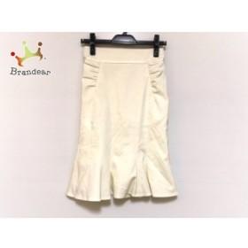 マテリア MATERIA スカート サイズ36 S レディース 美品 アイボリー   スペシャル特価 20191031