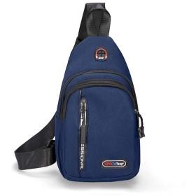 ワンショルダーバッグ メンズ 斜めがけ ボディバッグ レディース 防水 軽量 イヤホン穴付き ショルダーバッグ iPadmini収納可 通勤 旅行