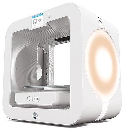 3D印表機【3D Systems Third Generation 3D列印機】Cube 3 第三代 列印大小140*140*140mm 雙噴頭打印 解析度0.1mm