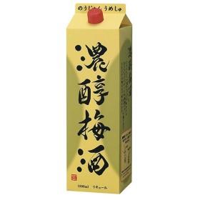 アサヒ 濃醇梅酒 12度 パック 1800ml