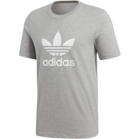 [アディダス オリジナルス]adidas Originals CY4574 Trefoil T-Shirt Medium Grey size L [並行輸入品]