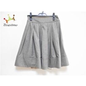 セリーヌ CELINE スカート サイズ36 S レディース グレー 新着 20190719