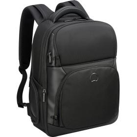 Delsey デルセーQuarterback Premium ビジネスバッグ リュックサック バックパック パソコン収納 通勤 短期出張対応 ブラック 15.6インチPC対応 29.8+3.8L