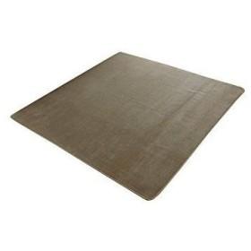 イケヒコ・コーポレーション ラグ カーペット 3畳 洗える 抗菌 防臭 無地 『ピオニー』 ベージュ 約200×250cm (ホットカーペット対応)