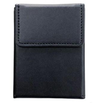 アンサー トレーディングカード用レザーカードケース スリム(ブラック) 【返品種別B】