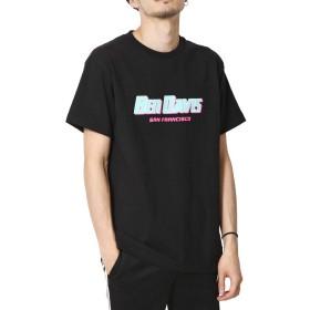 [ベン デイビス] BEN DAVIS COLOR LOGO TEE c-9580023 01BLACK XL