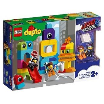 LEGO レゴ レゴ 10895 デュプロ レゴムービー2 エメットとルーシーのブロック・シティ