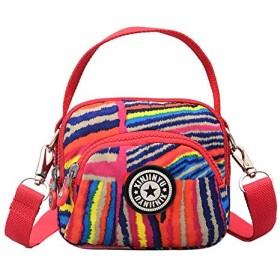 エコテンポ花女性メッセンジャーバッグかわいい雌花ヴィンテージ小さなハンドバッグ女の子キャンバスナイロンクロスボディ Bolsas ショルダーバッグ