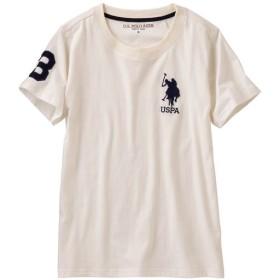 20%OFF【レディース】 ロゴTシャツ(U.S.POLO ASSN) - セシール ■カラー:ホワイト ■サイズ:3L,LL