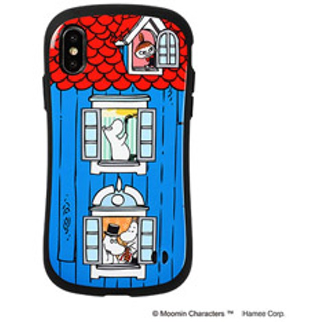 [iPhone XS/X専用]ムーミンiFace First Classケース 41-904565 ムーミンハウス/窓