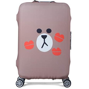 Suitcase Cover Elastic Luggage Protective Cover Trolley Suitcase Protect Dust Bag Case Cartoon Travel Accessories Size L Style 26