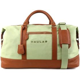 Haular 旅行用 ボストンバッグ 大容量 トラベルバッグ キャンバス トートバッグ(ライトグリーン)