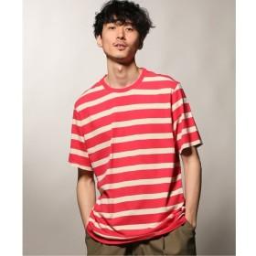 【ジャーナルスタンダード/JOURNAL STANDARD】 POP TRADING COMPANY / ポップトレーディングカンパニー BIG STRIPE Tシャツ