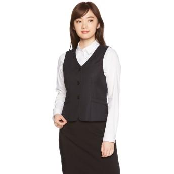 [ヌーヴォ] 事務服 スーツ レディース 女性用ベストFV36298 NUOVO(ヌーヴォ) (NUOVO) ネイビー 日本 19 (日本サイズ3L相当)