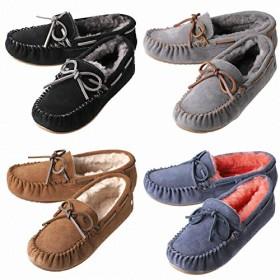 [エミュー] モカシン AMITY アミティ レディース ムートン シューズ 靴 モカシン/デッキシューズ W10555 0010 [並行輸入品]