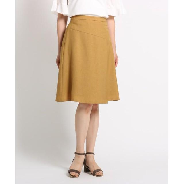 SunaUna(スーナウーナ) 【洗える】切り替えフレアスカート