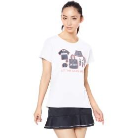 [プリンス] テニスウェア Tシャツ [レディース] WL9070 ホワイト (146) 日本 M (日本サイズM相当)