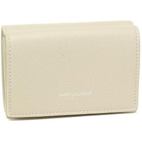 [サンローラン]折財布 レディース SAINT LAURENT PARIS 459784 B680N 9207 ホワイト [並行輸入品]