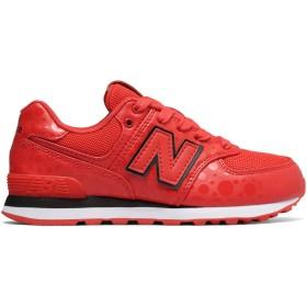 (ニューバランス) New Balance 靴・シューズ キッズランニング 574 Disney Red with Black レッド ブラック US 11 (17.5-18cm)